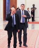 Rumänsk parlament - presidentanförande - politik Royaltyfria Foton