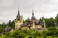 Rumänsk slott Arkivbild