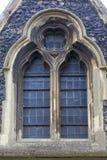 rumänsk stilkyrka för 12th århundrade av St Mary oskulden, Dover, Förenade kungariket Arkivbilder