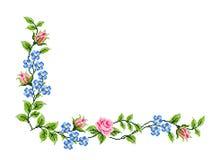 Rumänsk traditionell gräns stock illustrationer