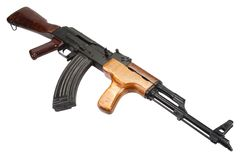 Rumänsk version för Kalashnikov AK 47 Royaltyfri Foto