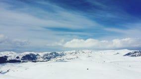Rumänska berg royaltyfri foto