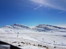 Rumänska berg arkivbild
