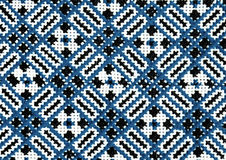 Rumänska folk sömlösa modellprydnader Rumänsk traditionell broderi Etnisk texturdesign Traditionell mattdesign Carpe arkivbild