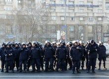 Rumänska gendarmar arkivfoto