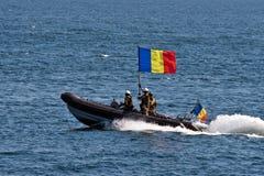 Rumänska marinberömmar Royaltyfria Foton