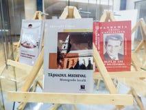 Rumänska politikerwritters i fängelse Arkivbild