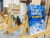 Rumänska politikerwritters i fängelse Royaltyfri Bild