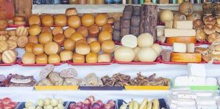 Rumänska traditionella produkter Arkivfoto