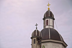Rumänskt kyrkligt återställande Fotografering för Bildbyråer