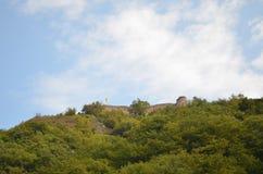 Rumänskt slott Royaltyfri Bild
