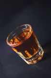 Rum. In glass Royalty Free Stock Photos