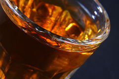 Rum. In glass Royalty Free Stock Images