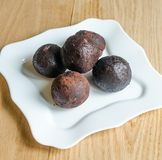Rum balls Royalty Free Stock Photography