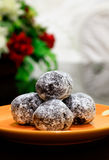 Rum balls Stock Photography