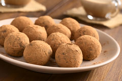 Rum Balls Royalty Free Stock Images