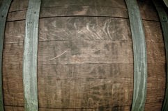 Rum Barrel Close Up Stock Photo