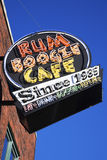 Rum Boogie Cafe. Bar on Beale Street in downtown of Memphis royalty free stock photo