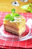 Rum cake stock images