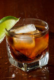 Rum and cola Royalty Free Stock Photo