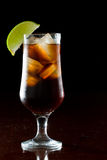 Rum and cola Royalty Free Stock Images