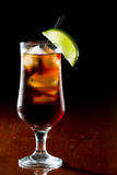 Rum and cola Stock Image