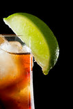 Rum and cola Royalty Free Stock Image