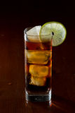 Rum and cola Royalty Free Stock Photography