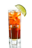 Rum and cola Stock Images