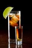 Rum and cola Stock Photography
