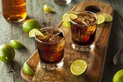 Rum and Cola Cuba Libre Royalty Free Stock Photos