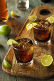 Rum and Cola Cuba Libre Royalty Free Stock Image