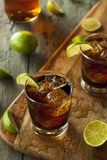 Rum and Cola Cuba Libre Stock Photo