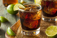 Rum and Cola Cuba Libre Stock Image
