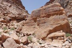Rum dei wadi, Giordano Immagine Stock Libera da Diritti
