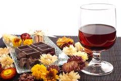 Rum e cioccolato immagine stock libera da diritti