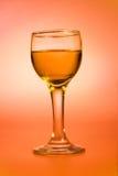 Rum em um vidro de vinho Imagem de Stock Royalty Free