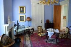Rum för Belmont antebellum kolonimusik royaltyfria foton