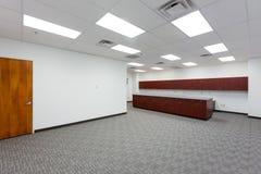 Rum för kontorstillförsel Arkivfoto