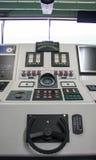 Rum för kontroll för skeppkapten Arkivbilder