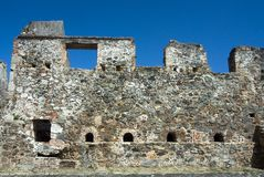 Rum Factory Ruins. Located on St. Johns Island Royalty Free Stock Photography