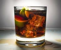 Rum, Havana-Verein, Cocktail, libre Rum, Coca Cola, bacardi, Havana, Havana, Rezept, Kalk, Rumkolabaum, Getränk, Logo, mojito, cl stockfotografie