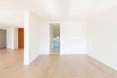 Rum med den vita väggen fotografering för bildbyråer