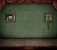 Rum med ramen. stock illustrationer