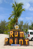 The Rum Point Grand Cayman Stock Photography