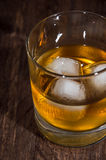 Rum on the rocks Royalty Free Stock Photography