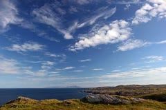 Rum von der Insel von Coll Stockfotos