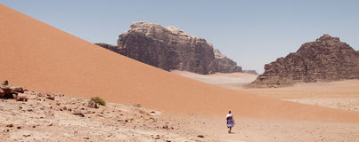 rum wadi jordan Zdjęcie Stock