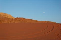 rum wadi noc zdjęcie stock