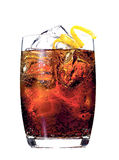 Rum or whiskey cocktail Royalty Free Stock Photos